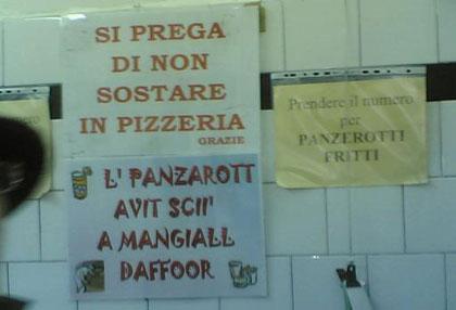 Panzerotto di Cosimo
