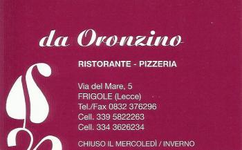 Da Oronzino