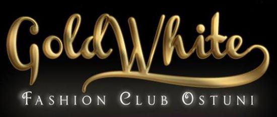 Gold White Fashion Club