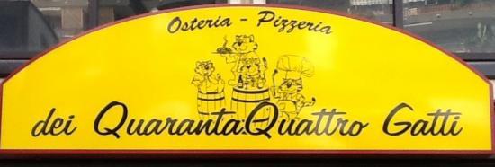Osteria dei QuarantaQuattro Gatti