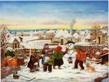 Copertina dedicata alle festività: La mattina di Natale di Vincenzo Milazzo
