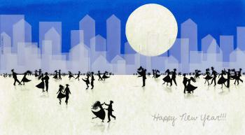 Copertina - Happy New Year 2013 di Francesca Cosanti