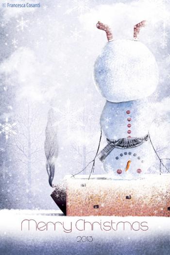 Copertina - Merry Christmas 2013 di Francesca Cosanti