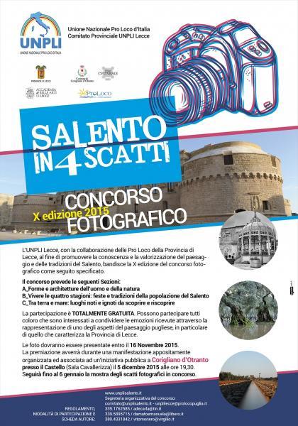 Concorso Fotografico - Salento in 4 Scatti 2015