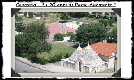 """Concorso Fotografico e Letterario """" i 20 anni di Parco Almirante"""""""