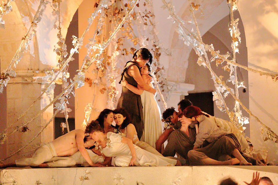 42° Festival della Valle d'Itria: questa sera ultima replica di Baccanali, di Agostino Steffani. Regia di Cecilia Ligorio
