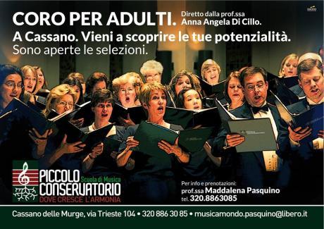 Selezione componenti coro per adulti