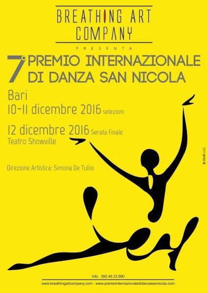 VII  Premio Internazionale di Danza San Nicola