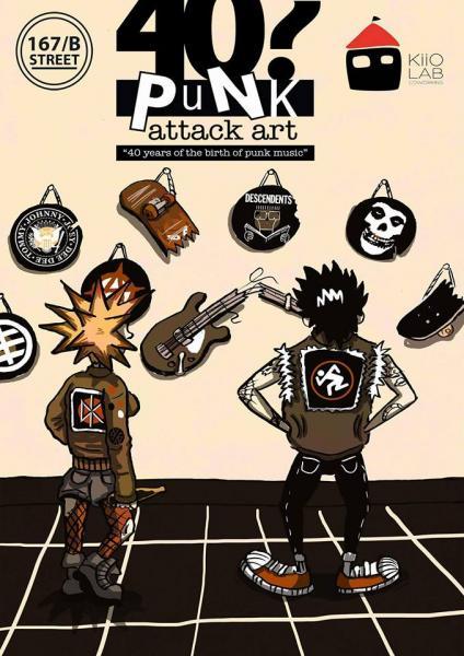 40? Punk Attack Open Call per Artisti