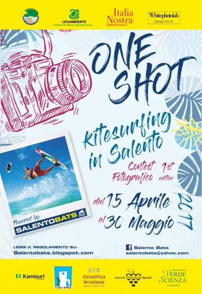 ONE SHOT kitesurfing in Salento - 1st edition