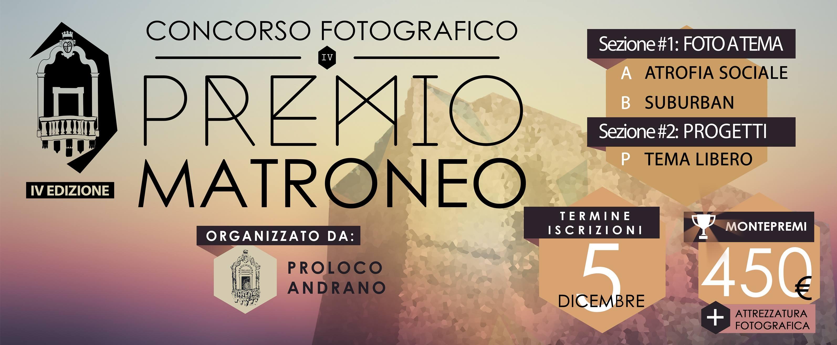 IV edizione Premio Matroneo