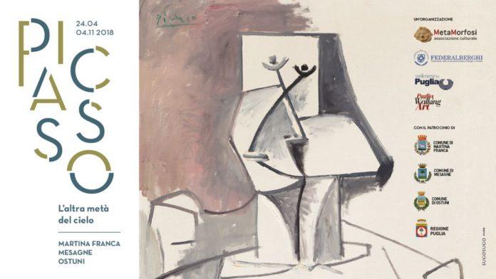 """Picasso in mostra a Martina Franca, Ostuni e Mesagne con un'esposizione diffusa dal titolo """"L'altra meta del cielo"""""""