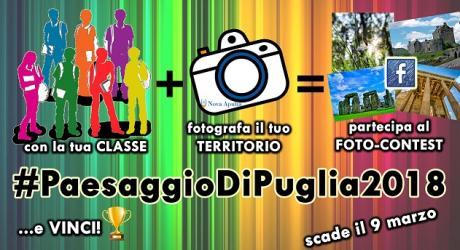 Foto-Contest #PaesaggioDiPuglia2018