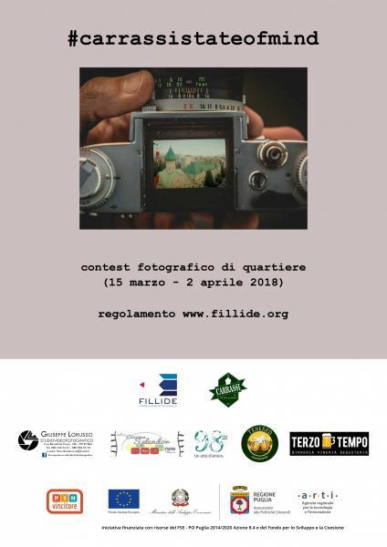 #carrassistateofmind: il contest fotografico di quartiere!