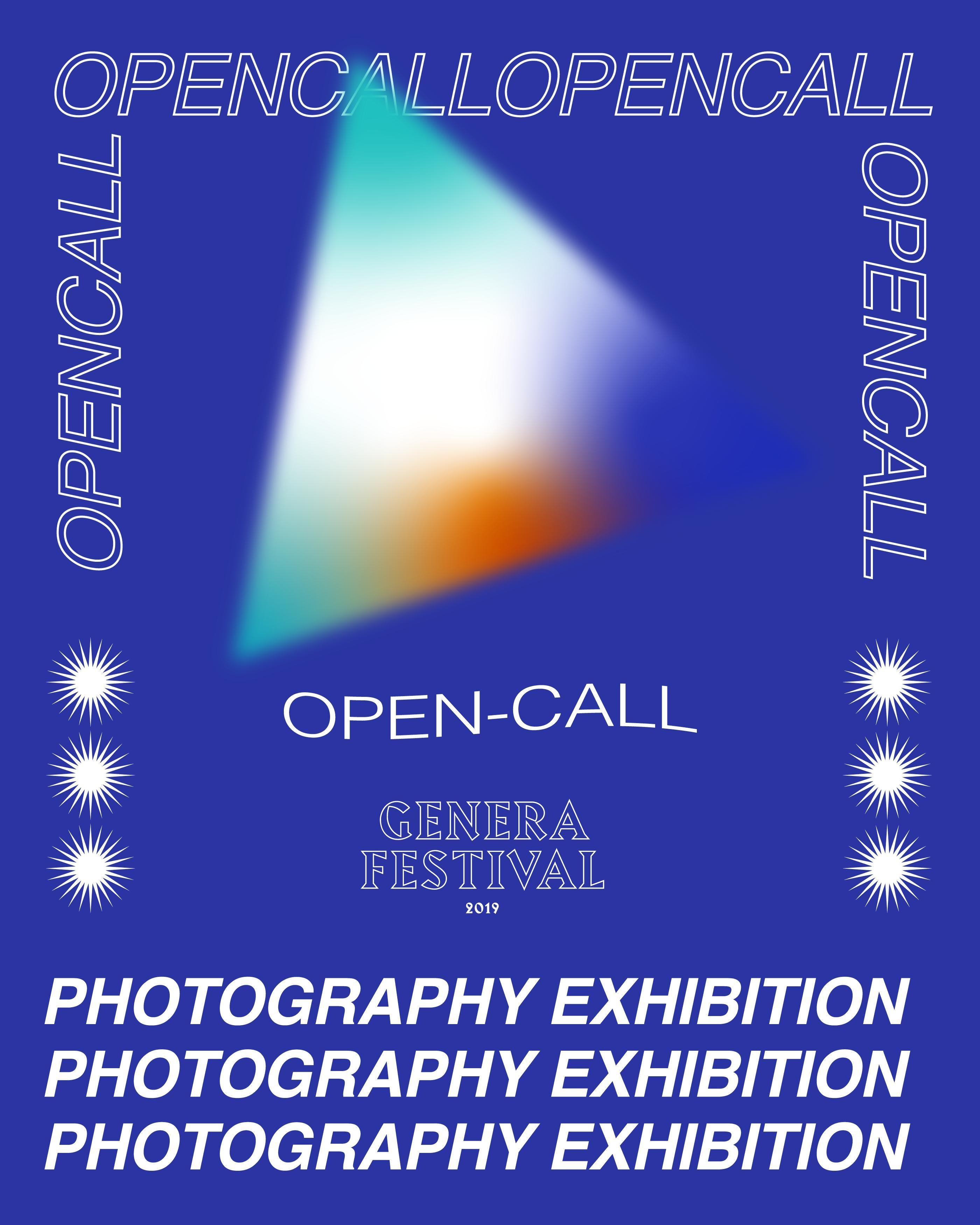 Genera Festival 2019/Attivata GeneraHumana, un'open call indirizzata ai fotografi