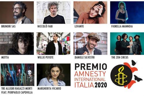 Premio Amnesty International Italia: ecco i candidati