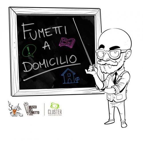 Fumetti a Domicilio, l'iniziativa della scuola del fumetto di Cosenza