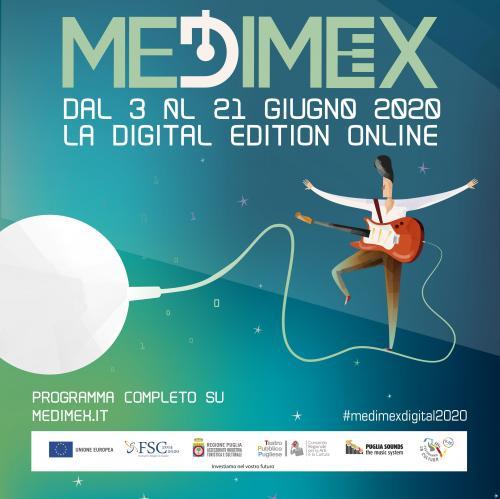 Medimex D: dal 3 al 21 giugno la prima music conference internazionale digitale