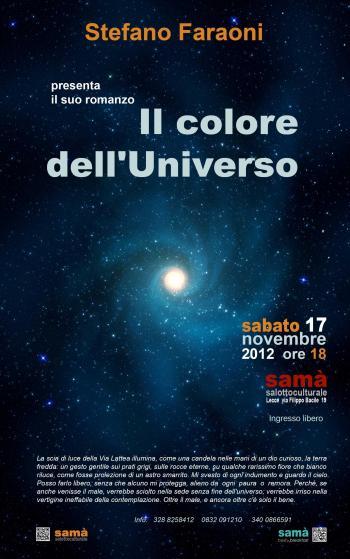 Presentazione del libro 'Il colore dell'Universo'