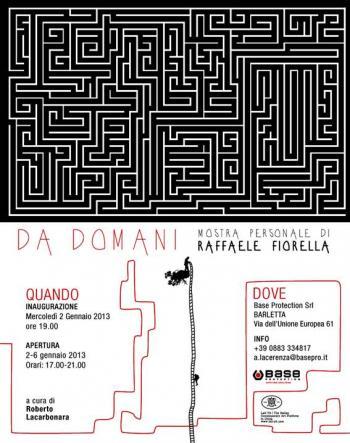 Da Domani. Raffaele Fiorella