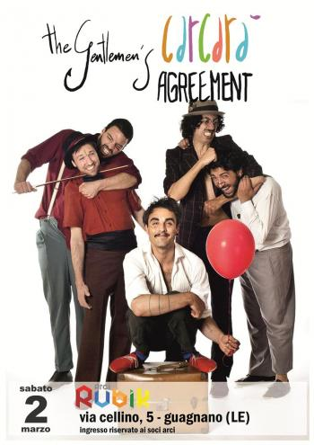 The Gentlemens Agreement Live Guagnano Il Tacco Di Bacco