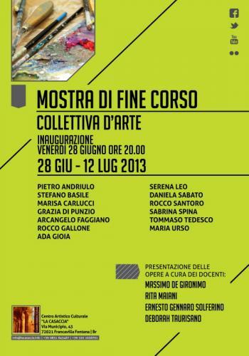Mostra Di Fine Corso Colletiva Du0027Arte