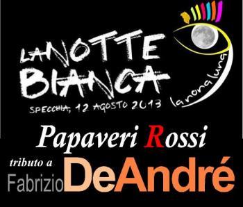 Tributo a Fabrizio De andrè - Papaveri Rossi