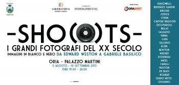 SHOOTS – Immagini in bianco e nero da Edward Weston a Gabriele Basilico