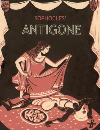an analysis of creon as a tragic hero in antigone an ancient greek play by sophocles