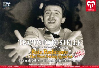 Trapunto di Stelle - Omaggio a Domenico Modugno con Raiz,  Radicanto e The Next String Quartet