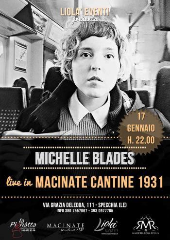 Michelle blades in concerto al macinate cantine di specchia specchia il tacco di bacco - Le macinate specchia ...