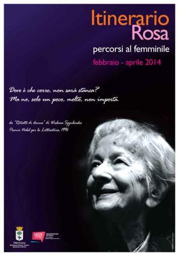 Itinerario Rosa 2014 - Percorsi al femminile