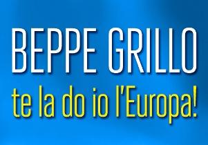 """""""Te la do io l'europa"""", il nuovo spettacolo di Beppe Grillo, ecco la date"""
