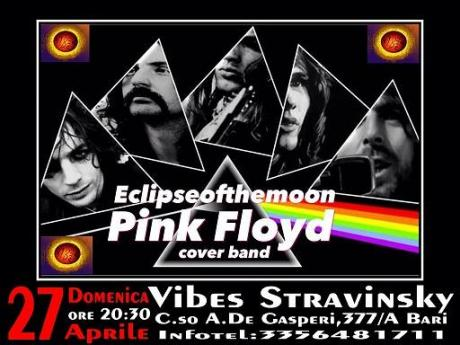 Pink Floyd Night con gli Eclipse of the Moon