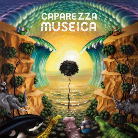 Caparezza presenta il suo nuovo album MUSEICA