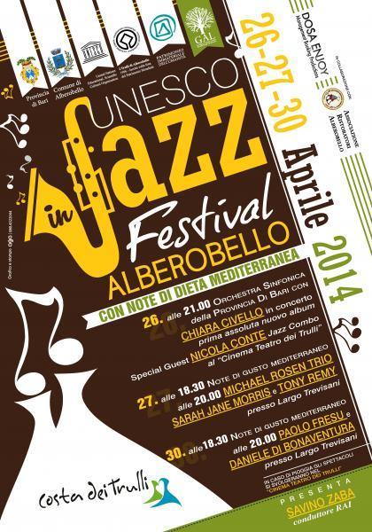 Unesco Jazz Festival: Il programma - degustazioni e concerti