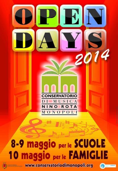 Open Days - Maggio 2014