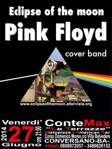PINK FLOYD NIGHT AL CONTE MAX \