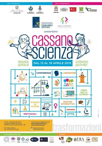 Festival Scientifico Cassanoscienza