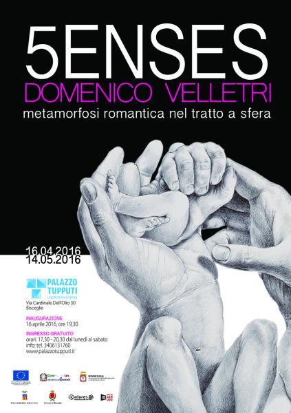5ENSES- metamorfosi romantica nel tratto a sfera di Domenico Velletri