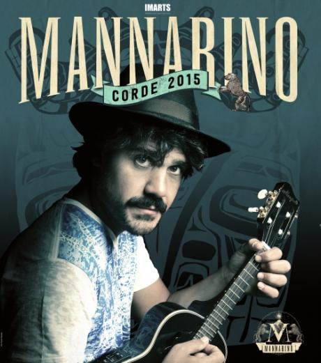 """Notte della Taranta: Mannarino in Concerto: """"Corde 2015"""""""
