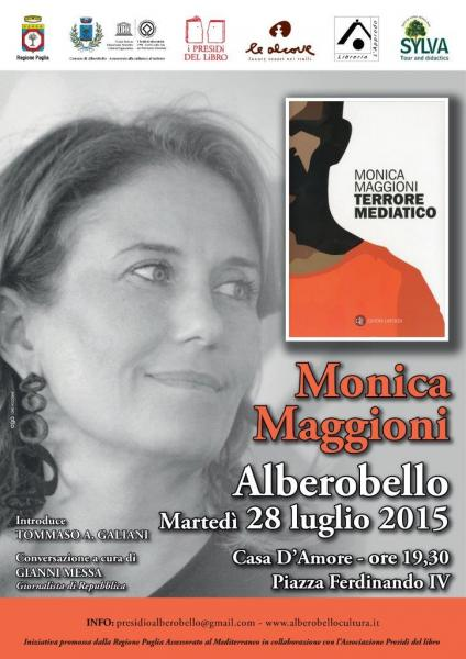 """Conversazione con Monica Maggioni """"Terrore Mediatico"""""""