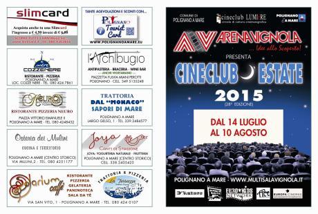 ARENA VIGNOLA 28a edizione del cinema teatro all'aperto