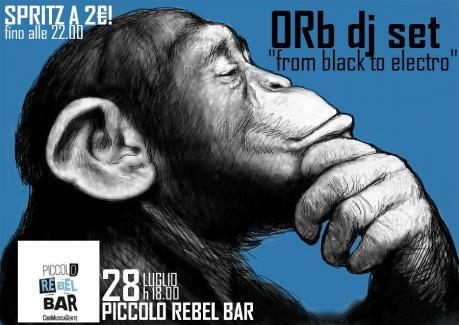Orb dj Set at Piccolo Rebel Bar