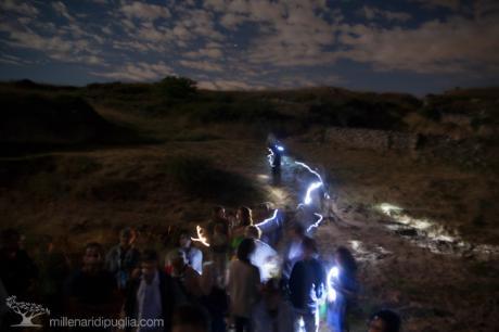 Bianchi Sentieri, escursione notturna con la luna piena