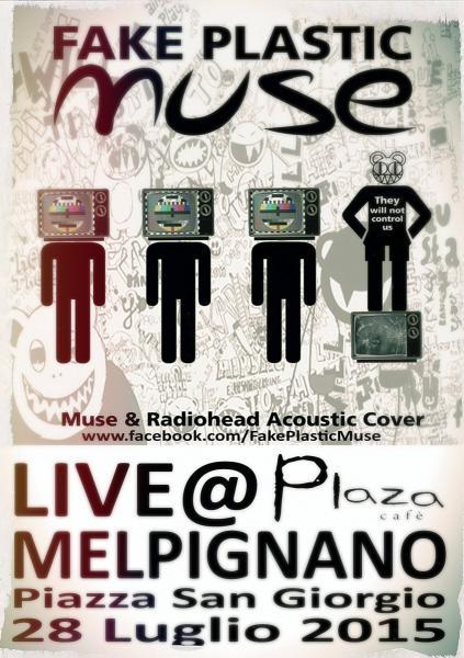 Fake Plastic Muse al Plaza Cafè di Melpignano