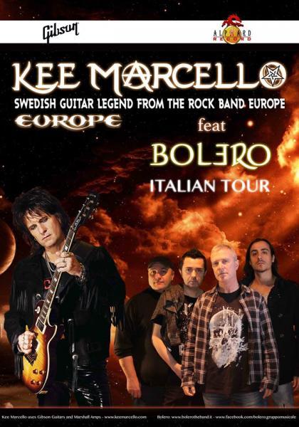Kee Marcello feat Bolero italian tour
