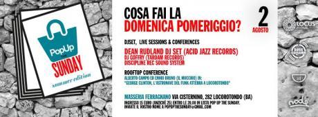 POPUP THE SUNDAY #6 - Speciale Locus Festival - Biglietti ridotti fino alle ore 20.00