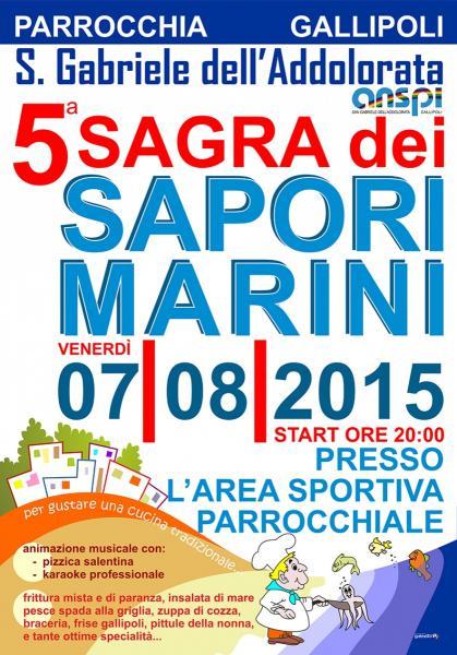 Sagra dei Sapori marini 5^ ed.