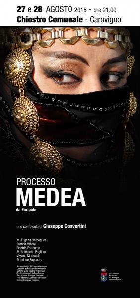 """""""Processo Medea"""" di Giuseppe Convertini"""